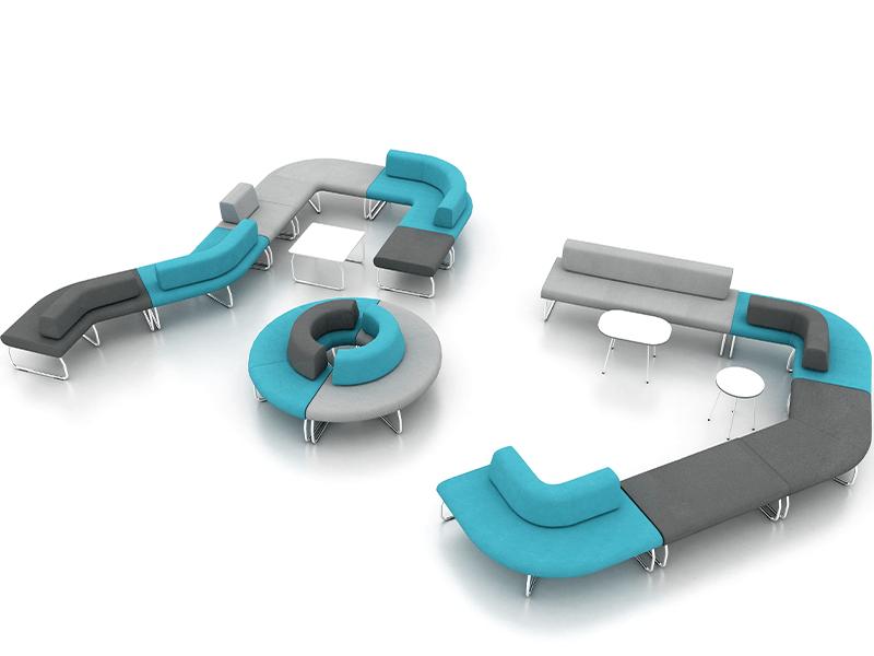 LEGVAN sofy modułowe